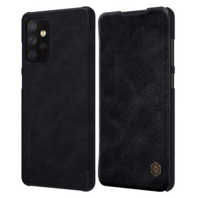 Samsung Galaxy A72 Kotelo Nillkin Qin Musta