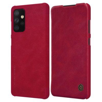 Samsung Galaxy A72 Kotelo Nillkin Qin Punainen