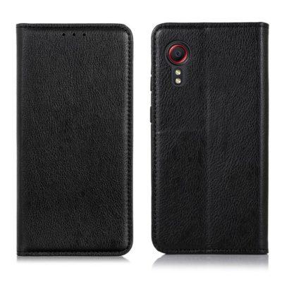 Samsung Galaxy Xcover 5 Kannellinen Kotelo Musta