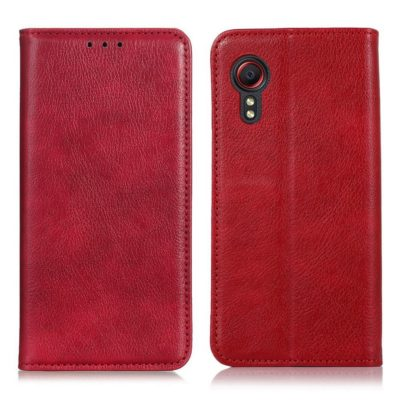 Samsung Galaxy Xcover 5 Kannellinen Kotelo Punainen