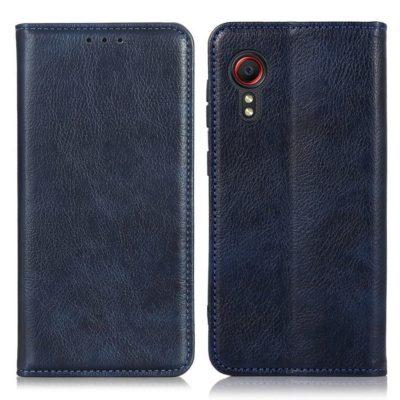 Samsung Galaxy Xcover 5 Kannellinen Kotelo Sininen