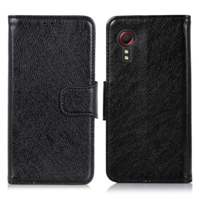 Samsung Galaxy Xcover 5 Nahkakotelo Musta