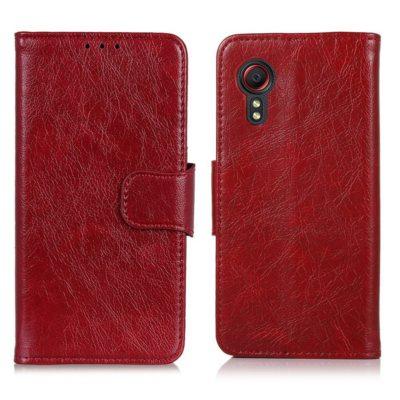 Samsung Galaxy Xcover 5 Nahkakotelo Punainen