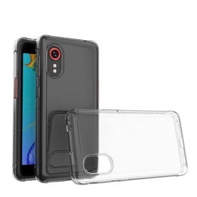 Samsung Galaxy Xcover 5 Suojakuori Läpinäkyvä
