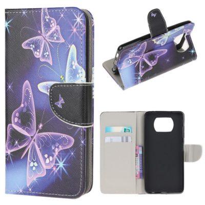 Xiaomi Poco X3 NFC Suojakotelo Perhonen 2