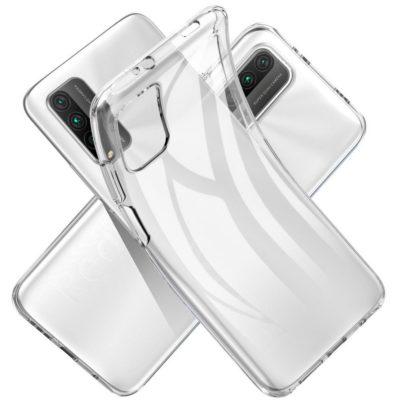 Xiaomi Redmi 9T Suojakuori TPU-Muovi Läpinäkyvä