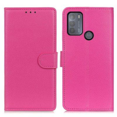 Motorola Moto G50 5G Kotelo Pinkki Lompakko
