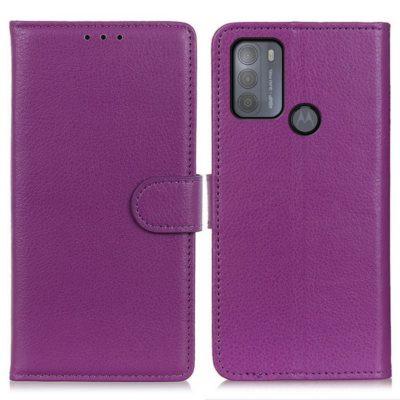 Motorola Moto G50 5G Kotelo Violetti Lompakko