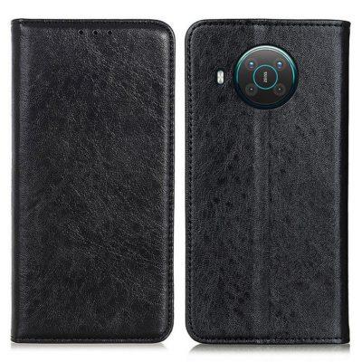 Nokia X20 5G Kannellinen Suojakotelo Musta