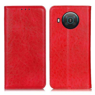 Nokia X20 5G Kannellinen Suojakotelo Punainen