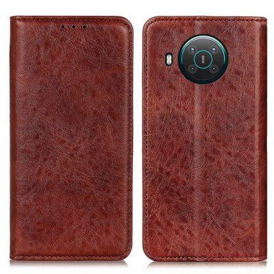 Nokia X20 5G Kannellinen Suojakotelo Ruskea