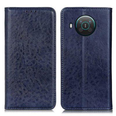 Nokia X20 5G Kannellinen Suojakotelo Sininen