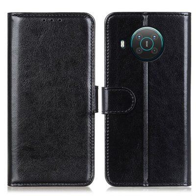 Nokia X20 5G Lompakko Suojakotelo Musta