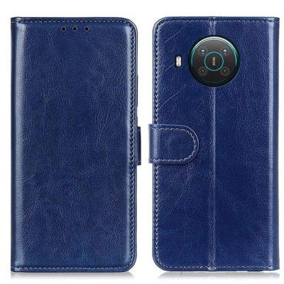 Nokia X20 5G Lompakko Suojakotelo Sininen