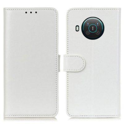 Nokia X20 5G Lompakko Suojakotelo Valkoinen