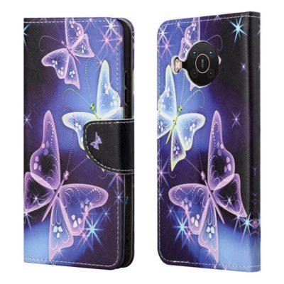 Nokia X20 5G Lompakkokotelo Perhonen 2