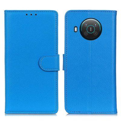 Nokia X20 5G Suojakotelo Sininen Lompakko