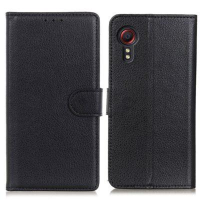 Samsung Galaxy Xcover 5 Lompakkokotelo Musta