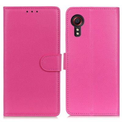 Samsung Galaxy Xcover 5 Lompakkokotelo Pinkki