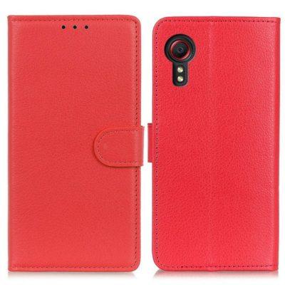 Samsung Galaxy Xcover 5 Lompakkokotelo Punainen
