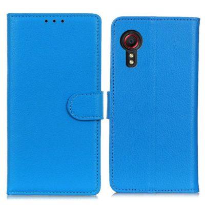 Samsung Galaxy Xcover 5 Lompakkokotelo Sininen