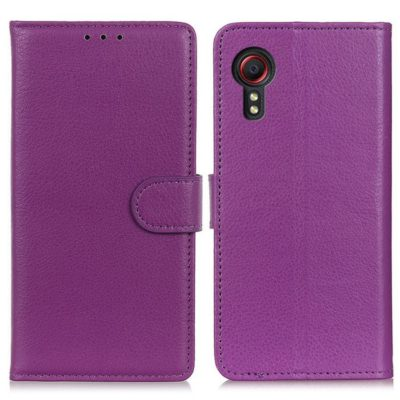 Samsung Galaxy Xcover 5 Lompakkokotelo Violetti