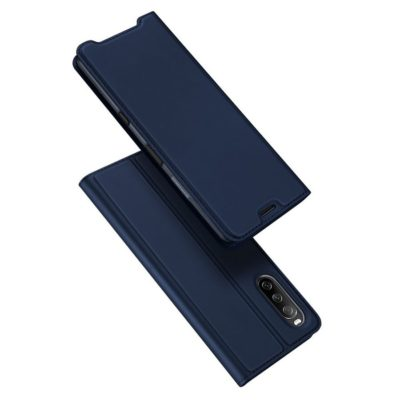 Sony Xperia 10 III Kotelo Dux Ducis Sininen