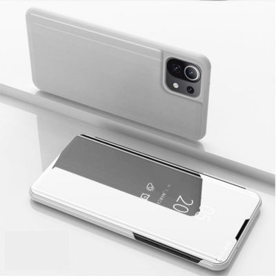 Xiaomi Mi 11 Lite 5G Kotelo Peilipinta Hopea