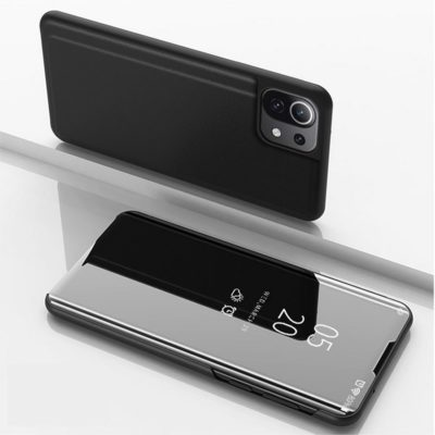 Xiaomi Mi 11 Lite 5G Kotelo Peilipinta Musta