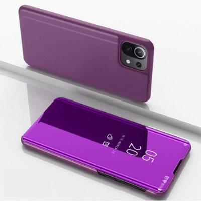 Xiaomi Mi 11 Lite 5G Kotelo Peilipinta Violetti