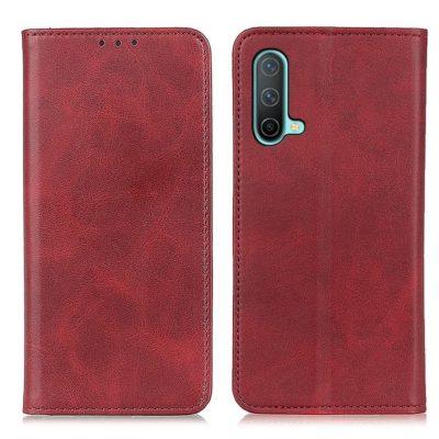OnePlus Nord CE 5G Kannellinen Kotelo Punainen