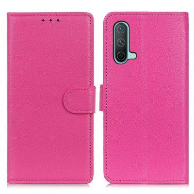 OnePlus Nord CE 5G Kotelo Pinkki Lompakko