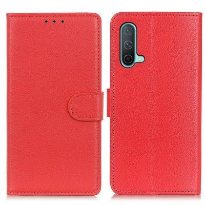 OnePlus Nord CE 5G Kotelo Punainen Lompakko
