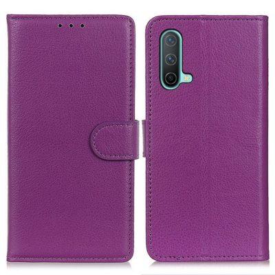 OnePlus Nord CE 5G Kotelo Violetti Lompakko