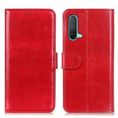 OnePlus Nord CE 5G Lompakkokotelo Punainen