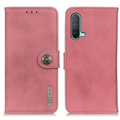 OnePlus Nord CE 5G Suojakotelo Khazneh Vaaleanpunainen
