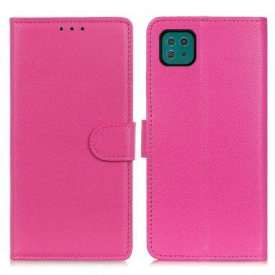 Samsung Galaxy A22 5G Kotelo Pinkki Lompakko
