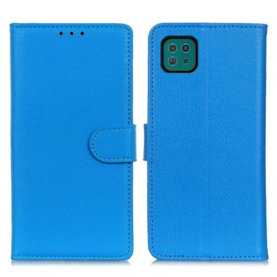 Samsung Galaxy A22 5G Kotelo Sininen Lompakko