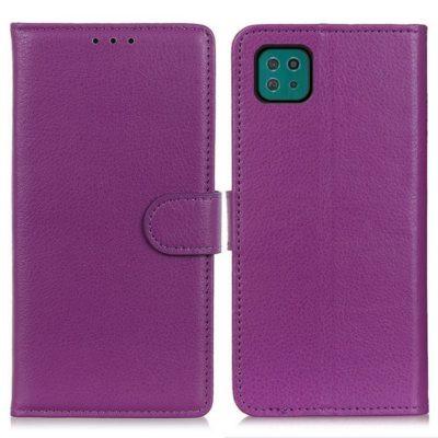 Samsung Galaxy A22 5G Kotelo Violetti Lompakko