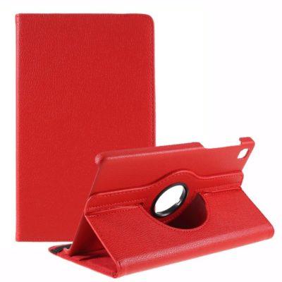 Samsung Galaxy Tab A7 Lite 8.7 Kotelo 360° Punainen