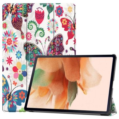 Samsung Galaxy Tab S7 FE 5G Suojakotelo Perhonen