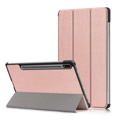 Samsung Galaxy Tab S7 FE 5G Suojakotelo Ruusukulta