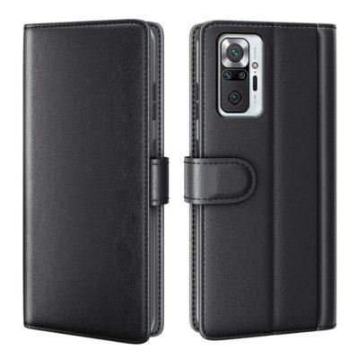 Xiaomi Redmi Note 10 Pro Nahkakotelo Musta
