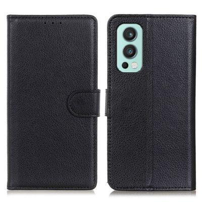 OnePlus Nord 2 5G Kotelo Musta Lompakko