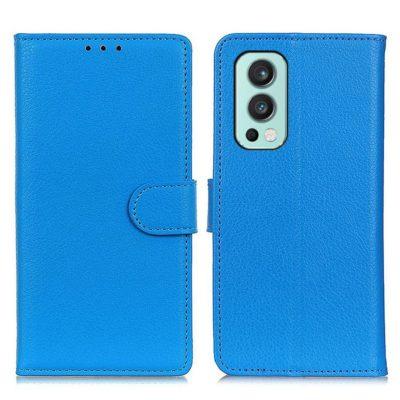 OnePlus Nord 2 5G Kotelo Sininen Lompakko