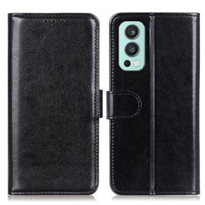 OnePlus Nord 2 5G Lompakkokotelo Musta