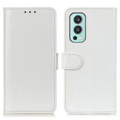 OnePlus Nord 2 5G Lompakkokotelo Valkoinen