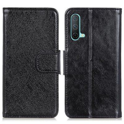 OnePlus Nord CE 5G Kotelo Musta Nahka