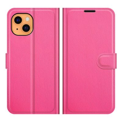 Apple iPhone 13 mini Kotelo PU-Nahka Pinkki