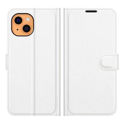 Apple iPhone 13 mini Kotelo PU-Nahka Valkoinen